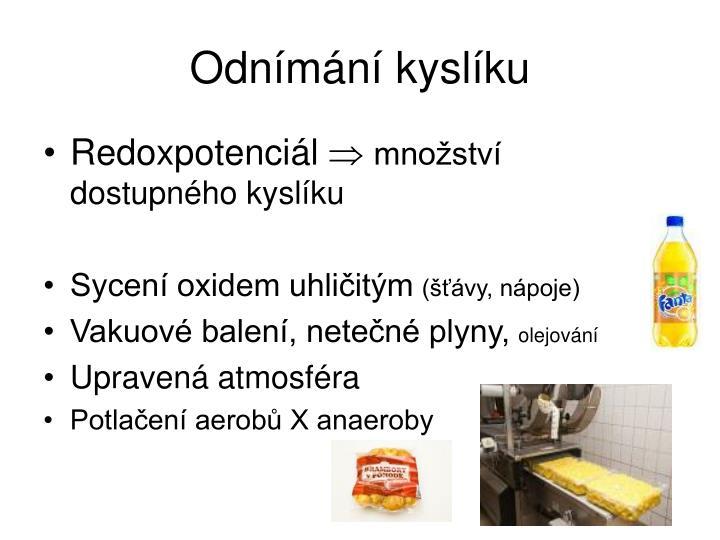Odnímání kyslíku