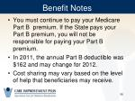 benefit notes