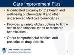 care improvement plus