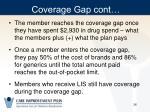 coverage gap cont