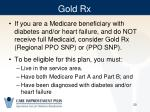gold rx