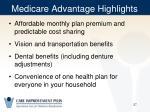 medicare advantage highlights