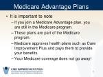 medicare advantage plans1