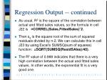 regression output continued1