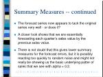 summary measures continued1