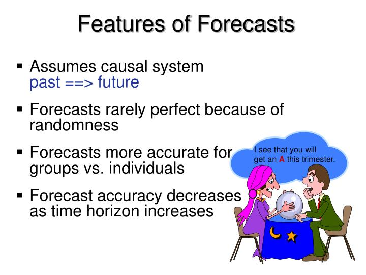 Features of Forecasts