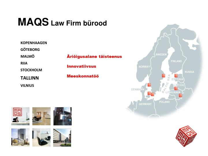 Maqs law firm b rood