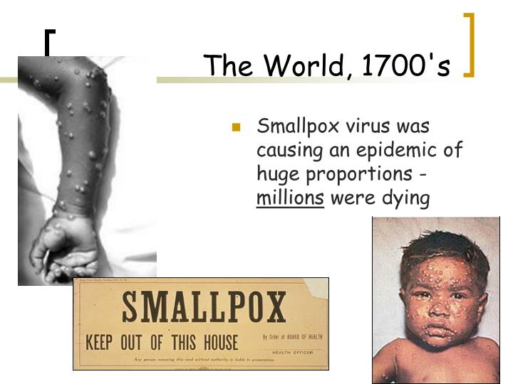 The world 1700 s