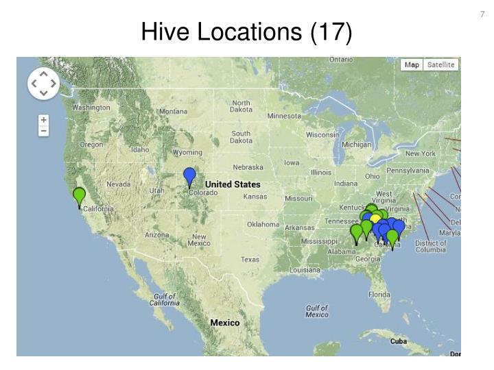 Hive Locations (17)