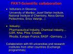fkkt scientific collaboration