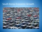 south korea economic growth