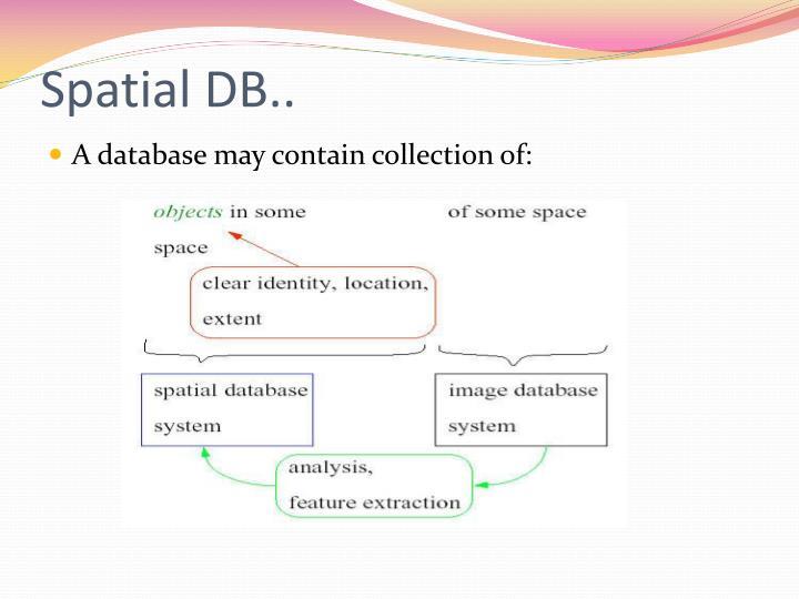 Spatial DB..