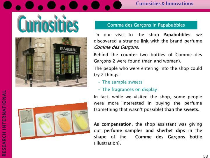 Curiosities