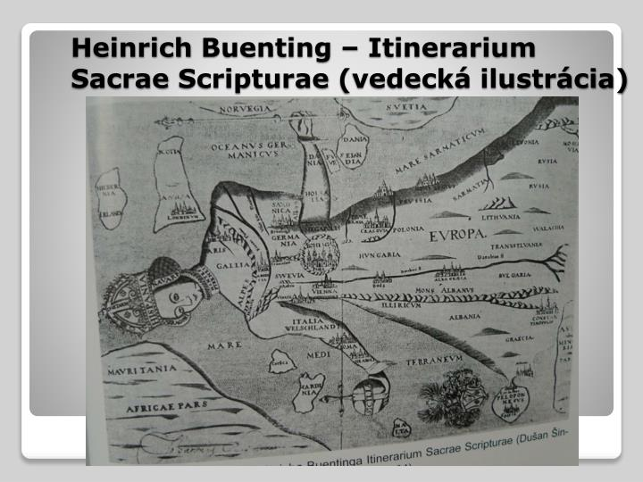 Heinrich buenting itinerarium sacrae scripturae vedeck ilustr cia