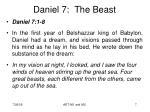 daniel 7 the beast