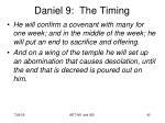 daniel 9 the timing5