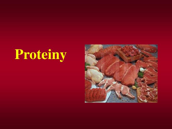 proteiny n.