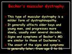 becker s muscular dystrophy