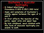 duchenne s muscular dystrophy1