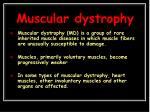 muscular dystrophy1