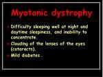 myotonic dystrophy3