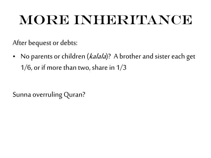 More Inheritance