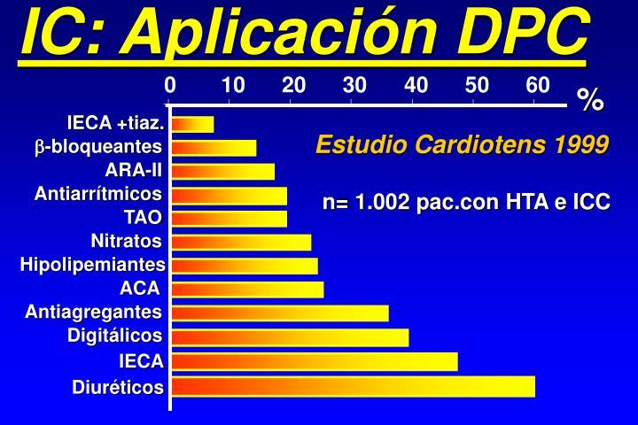 IC: Aplicación DPC