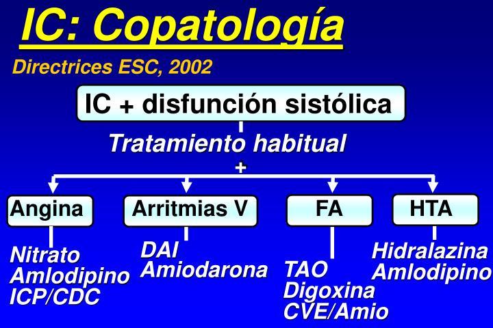 IC: Copatología