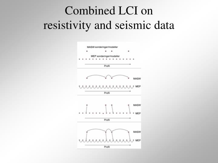 Combined LCI on