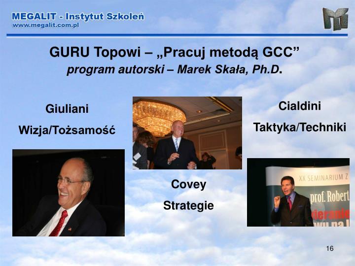 """GURU Topowi – """"Pracuj metodą GCC"""""""
