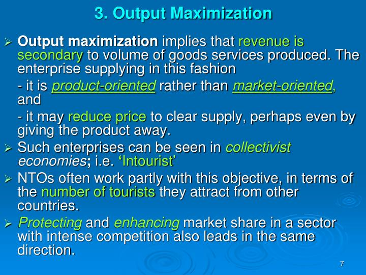 product orientation market orientation and asset led