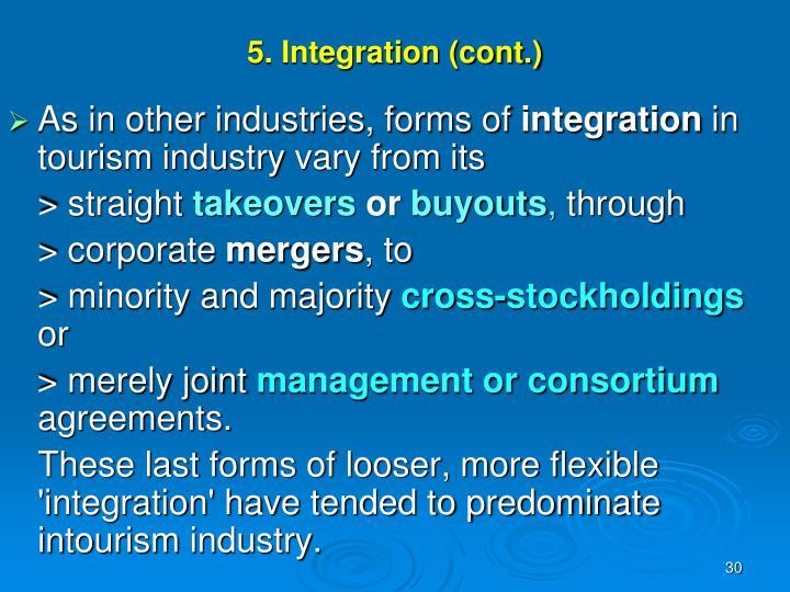 5. Integration (cont.)