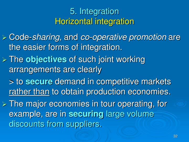 5. Integration