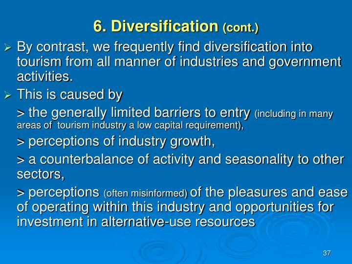 6. Diversification