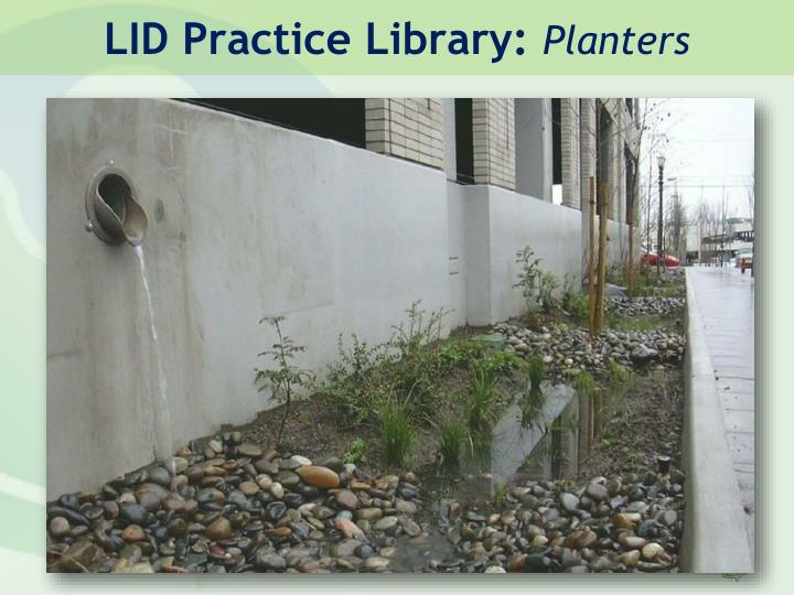 LID Practice Library:
