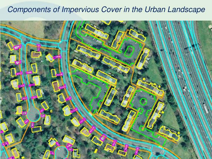 Components of Impervious Cover in the Urban Landscape