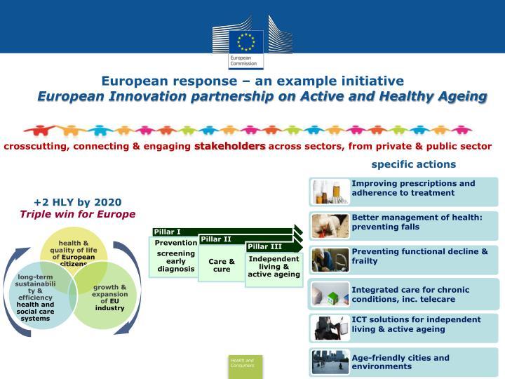 European response – an example initiative