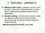 1 technika p ehled ii