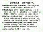 technika p ehled v