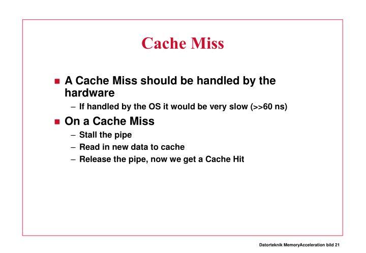 Cache Miss