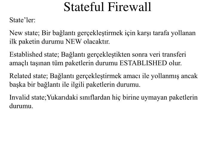 State'ler: