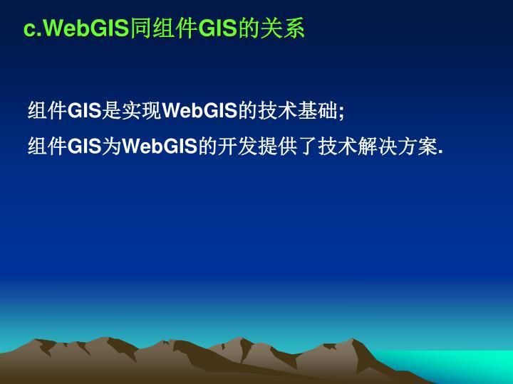 c.WebGIS