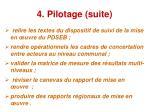 4 pilotage suite