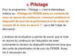 4 pilotage