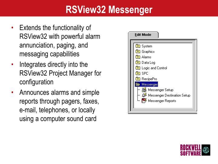 Rsview32 messenger