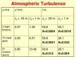 atmospheric turbulence1