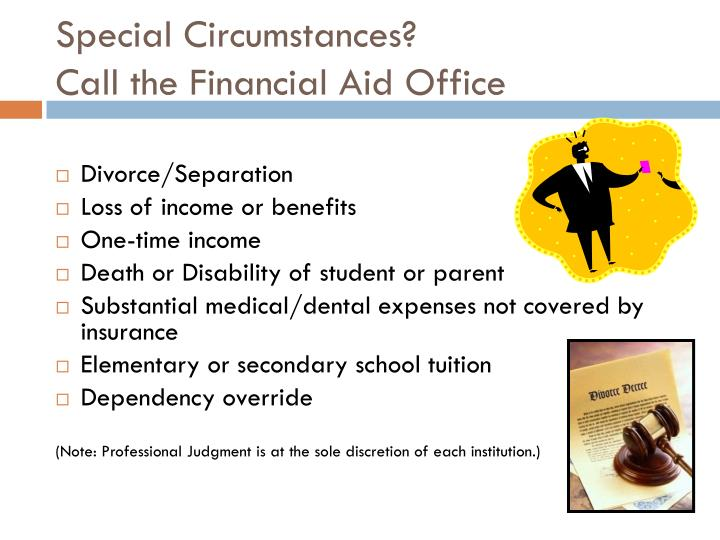 Special Circumstances?