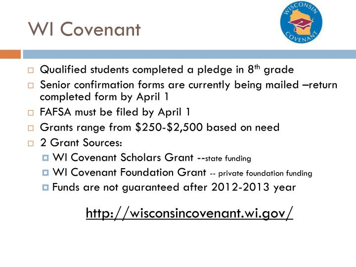 WI Covenant