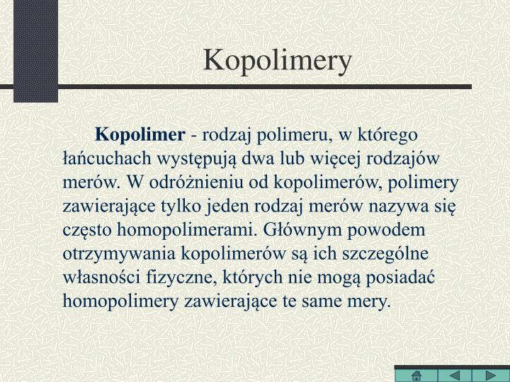 Kopolimery