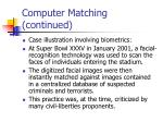 computer matching continued3